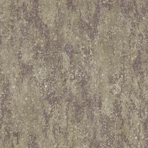 Textured Faux Concrete Wallpaper Purple and Taupe R4857