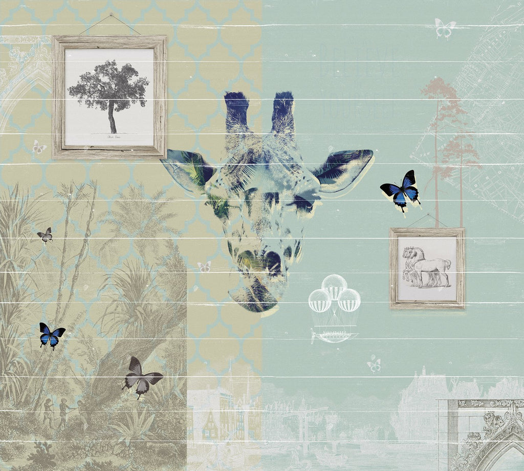 Giraffe Collage M9221