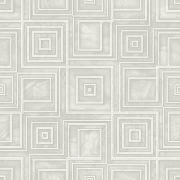 Modern Geometric Marble Wallpaper Grey and White R4809