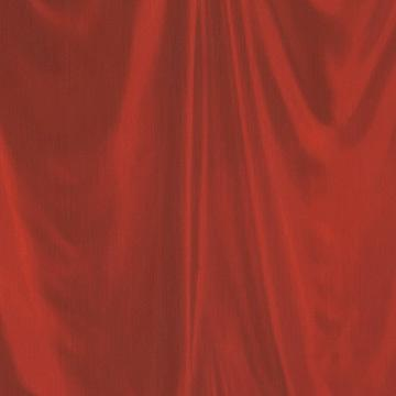 Red Faux Curtain Wallpaper SR1126