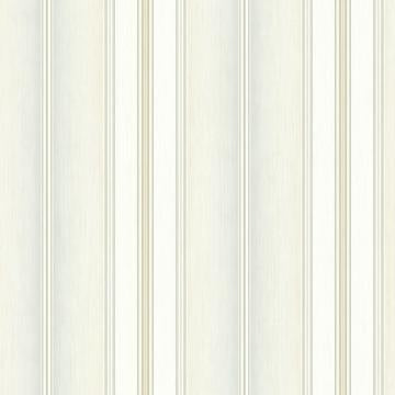 Minimalist Wainscot Wallpaper Beige and Grey R4845