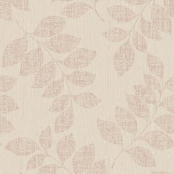 Tan Leaf Branches Wallpaper R3771 | Modern Classic Home Wall Covering