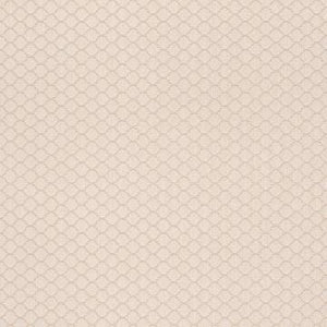 Threaded Honeycomb Geometric Linen Wallpaper Beige R4718