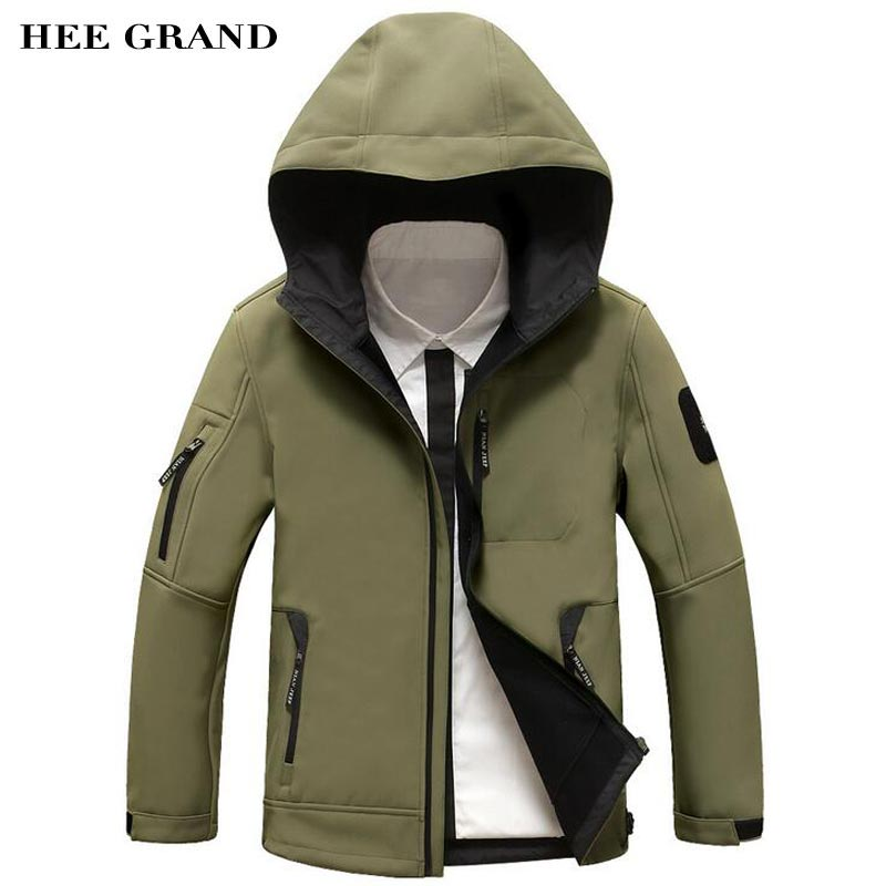 Military Jacket Men Softshell Waterproof Windbreaker