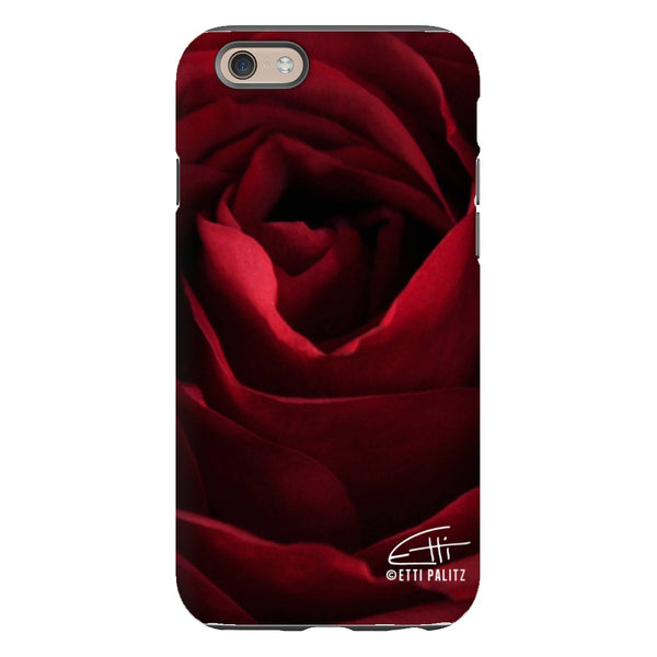 Flowers After Dark 'Gorgeous' Glossy Tough Phone Case