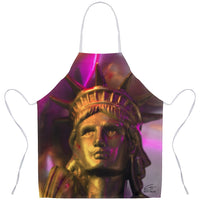 In Love with New York 'Liberty In Gold' Apron