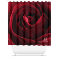 Flowers After Dark 'Gorgeous' Shower Curtain