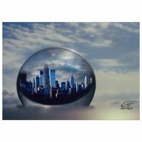 "In Love with New York 'Planet NY' 5x7"" Greeting Cards (10 Pack)"