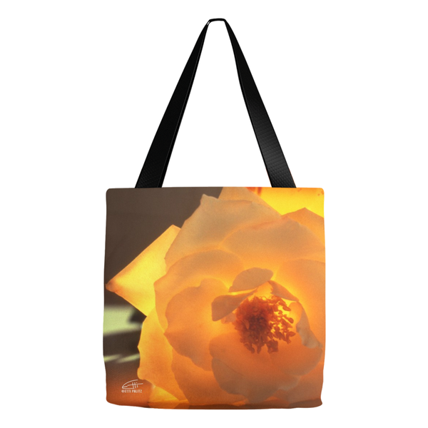 Flowers After Dark 'Enlightenment' Tote Bags