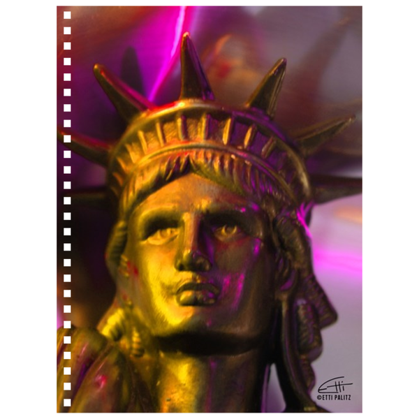In Love with New York 'Liberty In Gold' Notebook