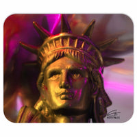 In Love with New York 'Liberty In Gold' Mousepad