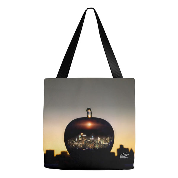 In Love with New York 'Big Apple' Tote Bag