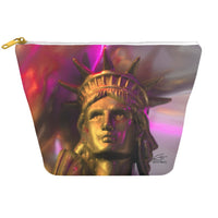In Love with New York 'Liberty In Gold' Dopp Kit