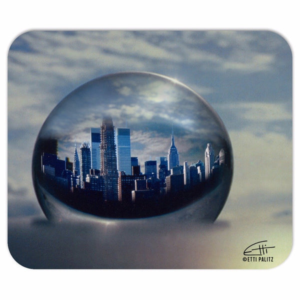 In Love with New York 'Planet NY' Mousepad