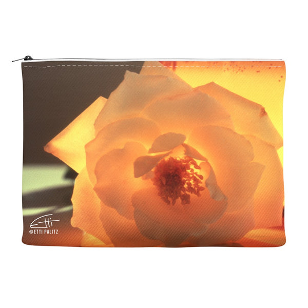 Flowers After Dark 'Enlightenment' Canvas Cosmetic Clutch