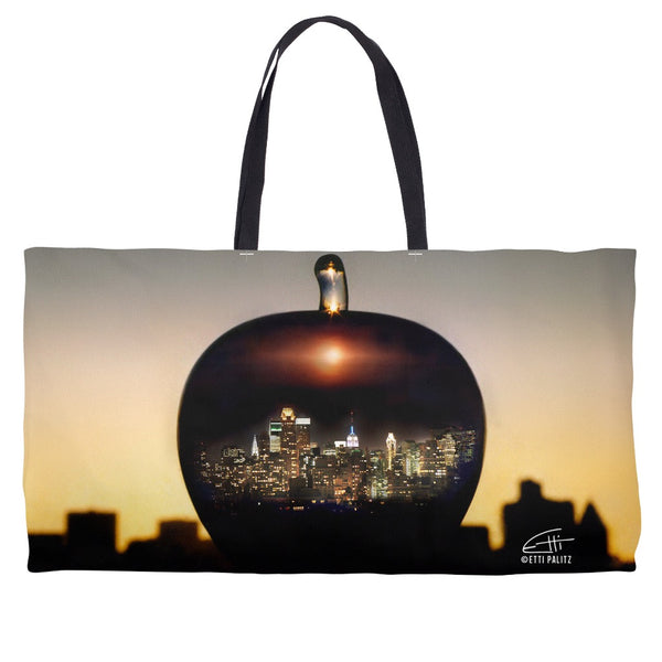 In Love with New York 'Big Apple' Weekender Tote