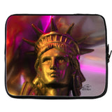 In Love with New York 'Liberty In Gold' Laptop Cover