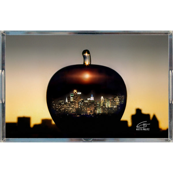 In Love with New York 'Big Apple' Tray