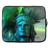 In Love with New York 'Liberty In Green' Laptop Cover