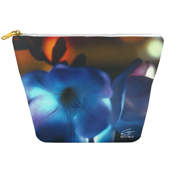 Flowers After Dark 'Blue Freesia' Dopp Kit