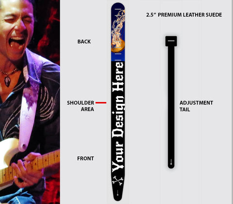 Custom Guitar Strap Design