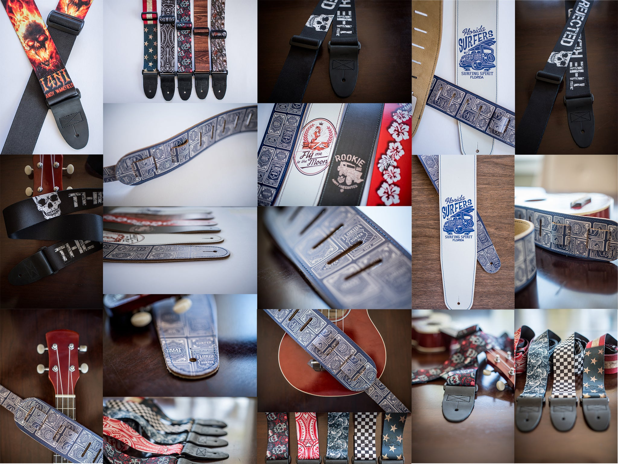 GUITAR STRAP GALLERY