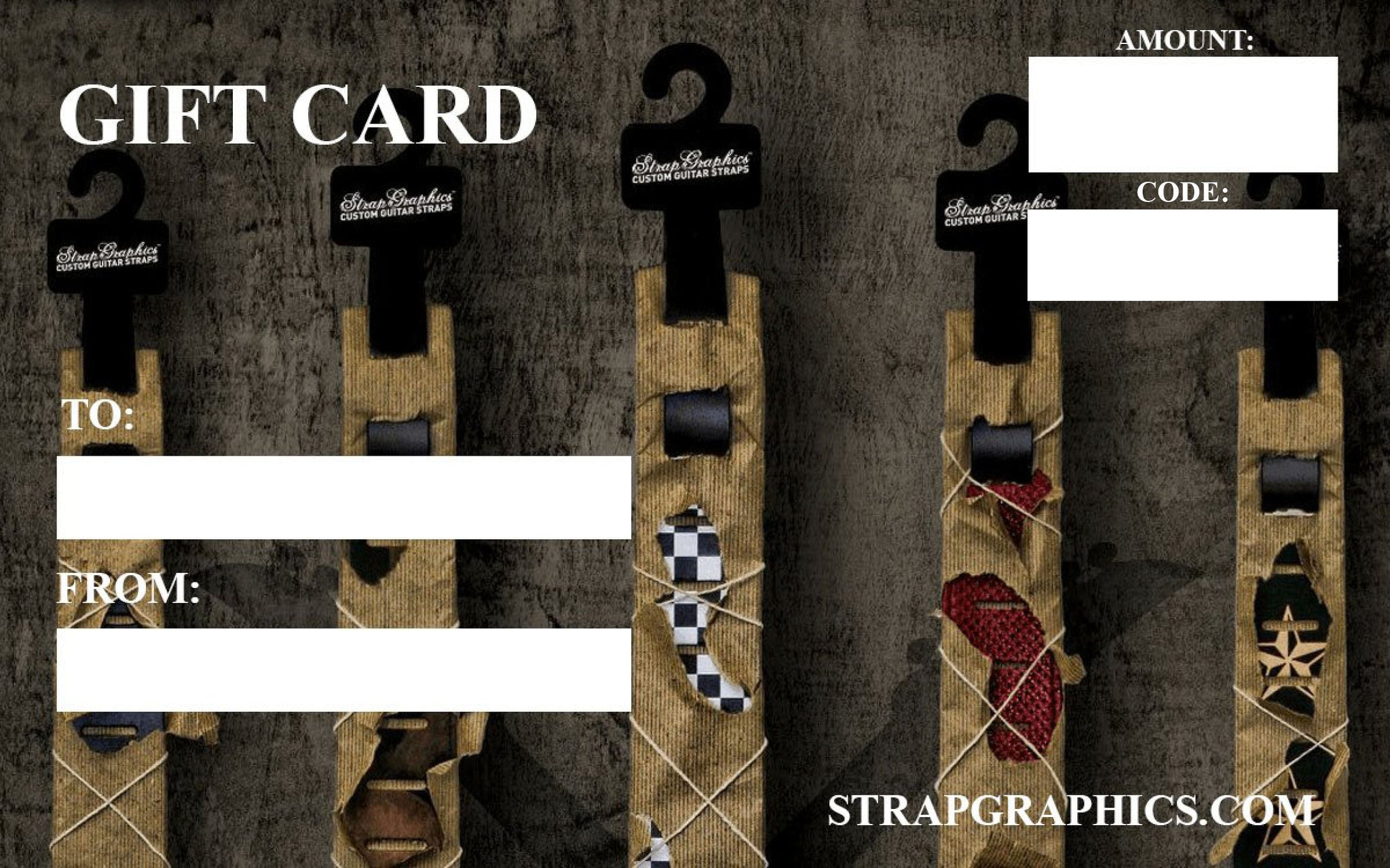 [Custom Guitar Straps] - StrapGraphics