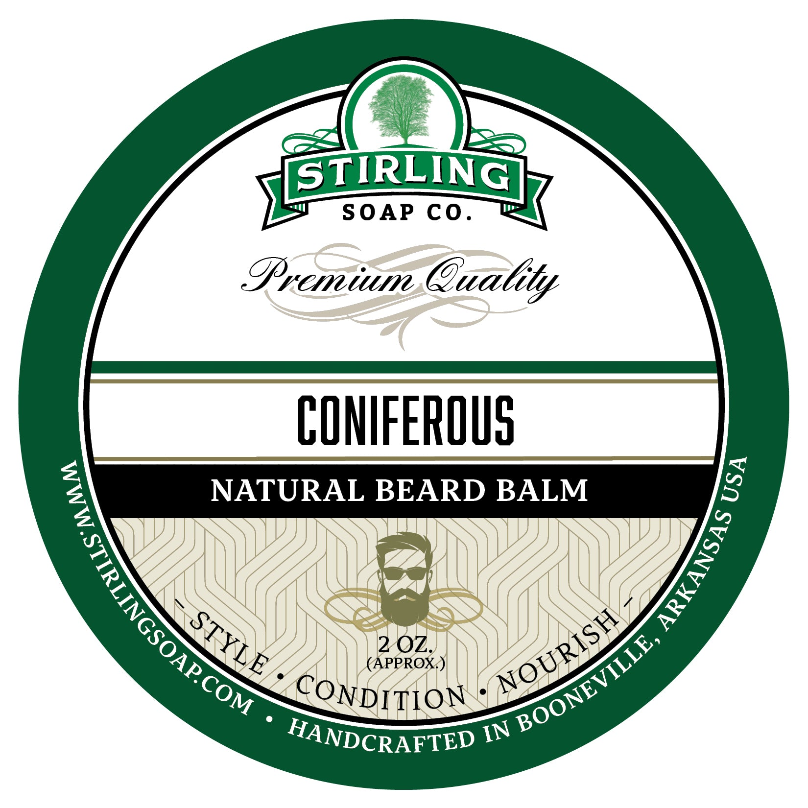 Coniferous Beard Balm - 2oz