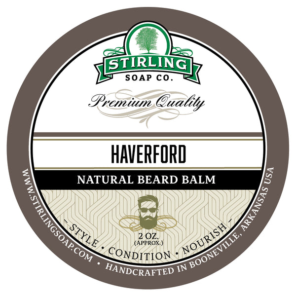 Haverford Beard Balm - 2oz