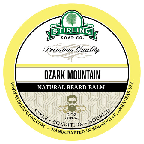 Ozark Mountain Beard Balm - 2oz