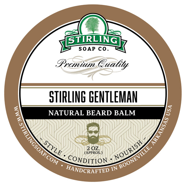 Stirling Gentleman Beard Balm - 2oz