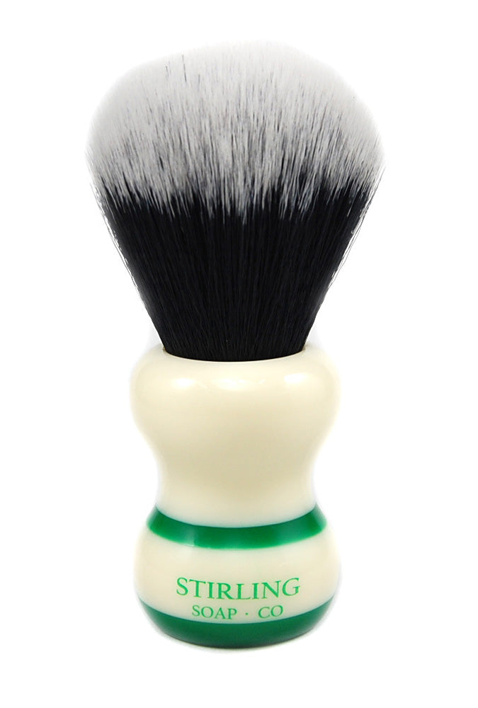 Synthetic 2-Band Brush - 24mm x 56mm (Green)