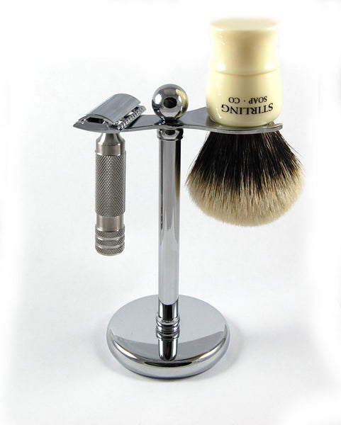 Wide Razor & Brush Stand