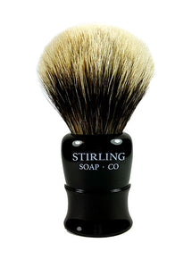 Finest Badger Shave Brush - 26mm (Black)