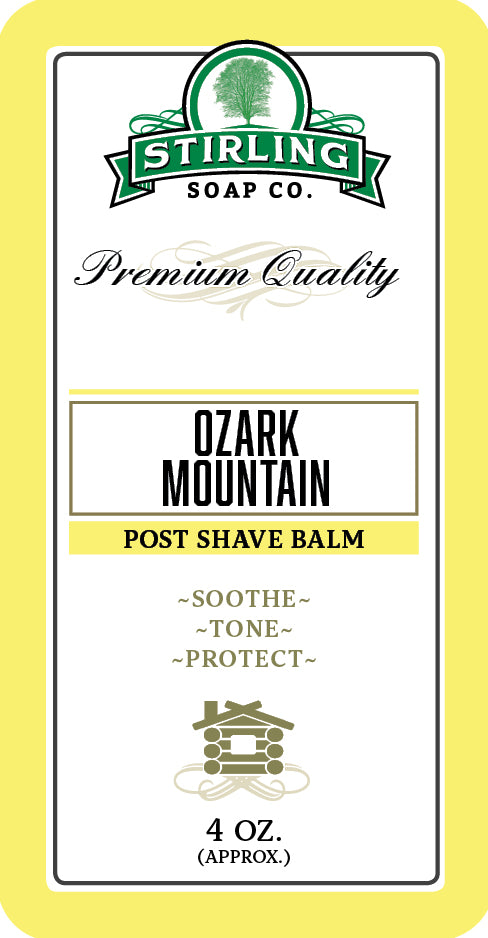 Ozark Mountain - Post-Shave Balm