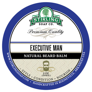 Executive Man Beard Balm - 2oz