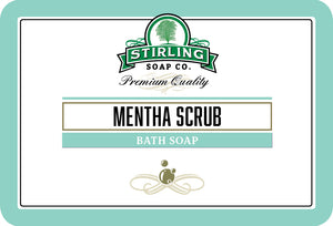 Mentha Scrub (No Menthol) - Bath Soap