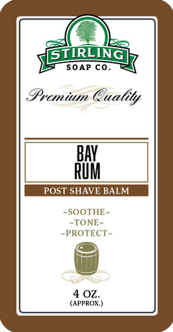 Bay Rum - Post-Shave Balm