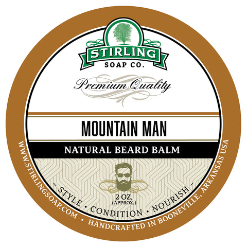 Mountain Man Beard Balm - 2oz