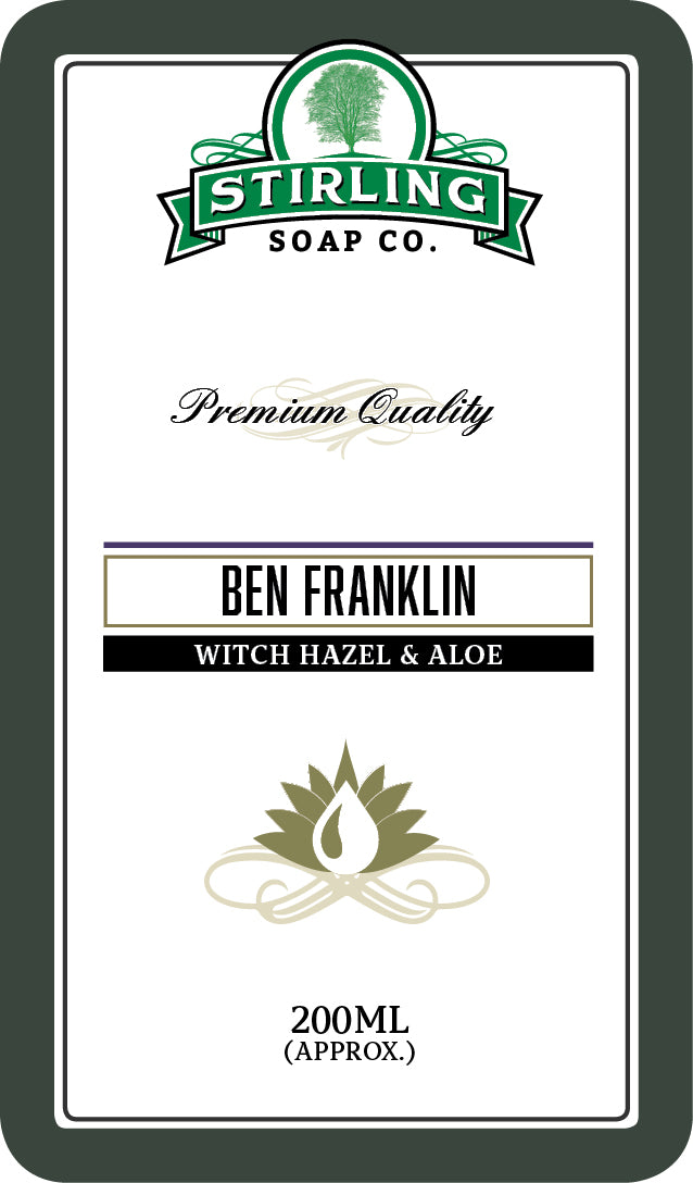 Ben Franklin Witch Hazel & Aloe - 200ml