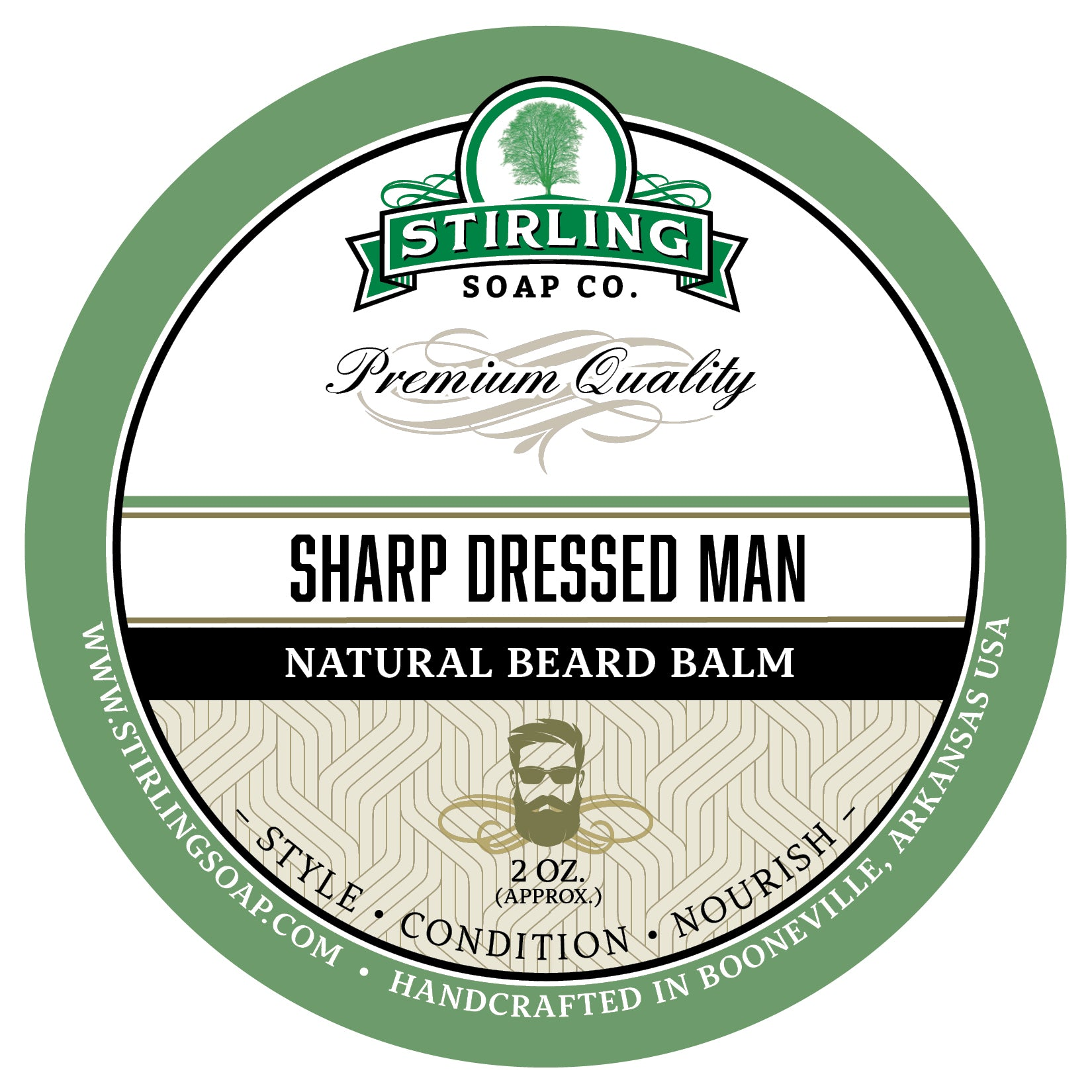 Sharp Dressed Man Beard Balm - 2oz