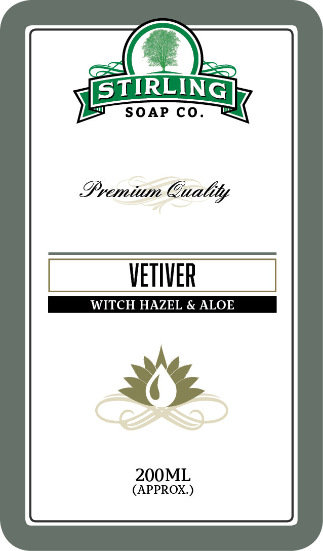 Vetiver Witch Hazel & Aloe - 200ml