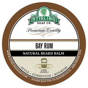 Bay Rum Beard Balm - 2oz