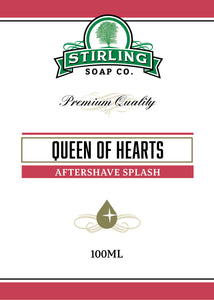 Queen of Hearts - 100ml Aftershave Splash