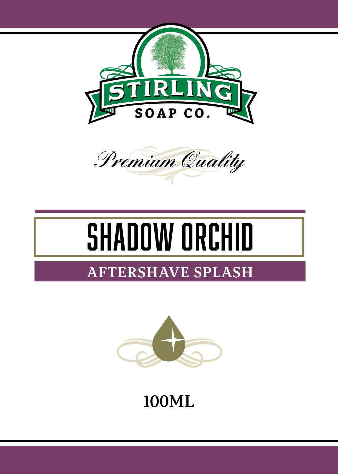 Shadow Orchid - 100ml Aftershave Splash