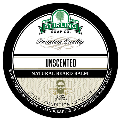 Unscented Beard Balm - 2oz