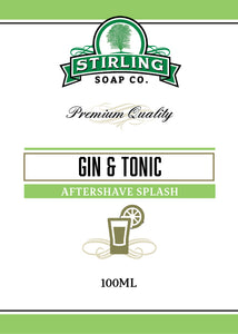 Gin & Tonic - 100ml Aftershave Splash