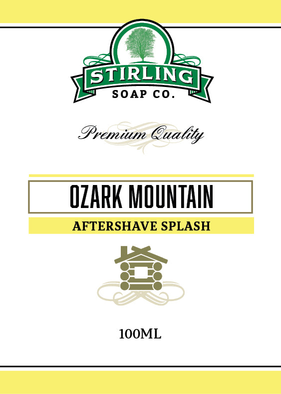 Ozark Mountain - 100ml Aftershave Splash