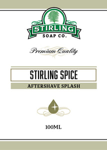 Stirling Spice - 100ml Aftershave Splash
