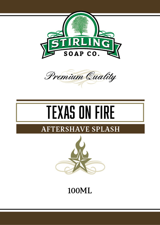Texas on Fire - 100ml Aftershave Splash